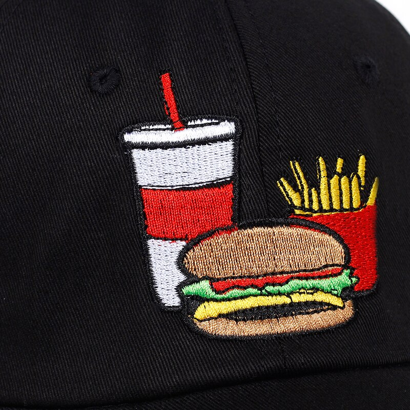 Cheeseburger Combo Dad Hat | CityCaps.Co
