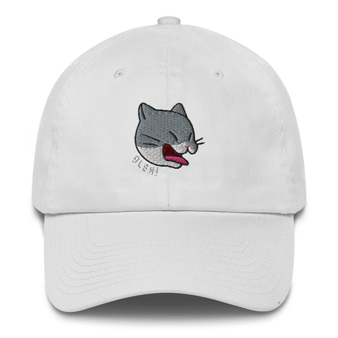 Random Ninja Kitty Bleh Cat Dad Hat | CityCaps.Co