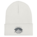 Random Ninja Kitty Nervous Cat Beanie | CityCaps.Co