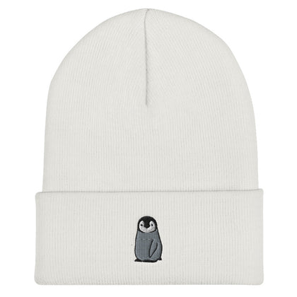 Sheba Drawing Penguin Beanie | CityCaps.Co