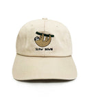 Sloth Slow Down Dad Hat | CityCaps.Co