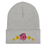 Star's Taco Piggy Stars Beanie | CityCaps.Co