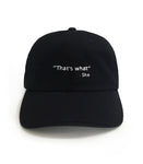 That's What She Said Dad Hat | CityCaps.Co