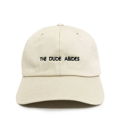The Dude Abides Dad Hat | CityCaps.Co