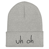 Uh Oh Beanie | CityCaps.Co