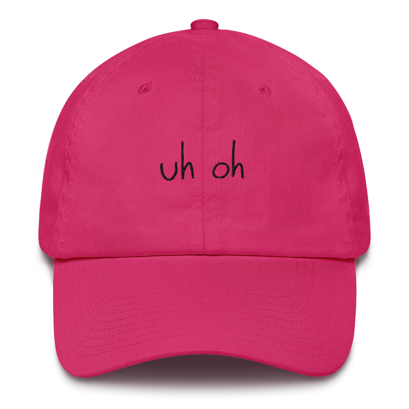 Uh Oh Dad Hat