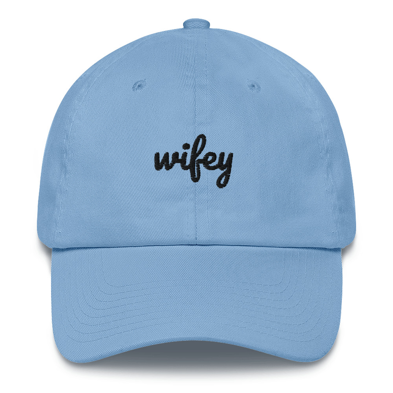 Wifey & Hubby Dad Hat