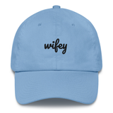 Wifey & Hubby Dad Hat | CityCaps.Co