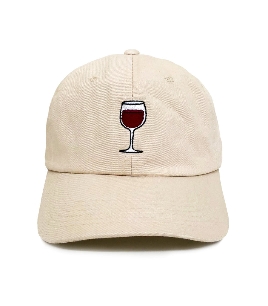 Wine Glass Dad Hat | CityCaps.Co