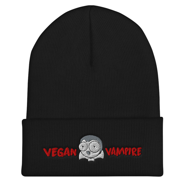 What The Frame Comics Vegan Vampire Beanie