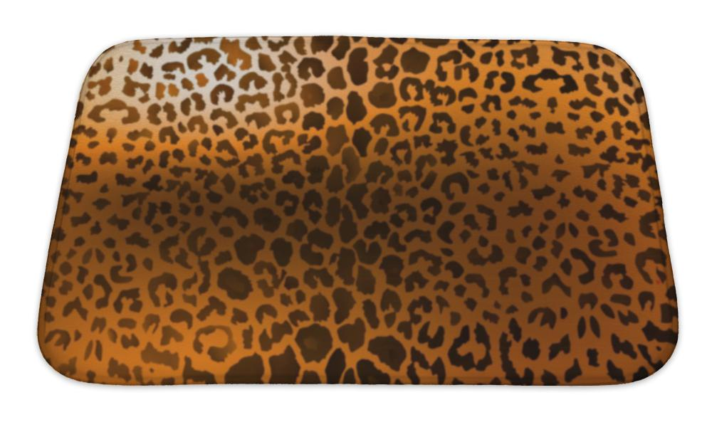 Bath Mat, Fashionable Leopard Print - emeralds-gift-palace