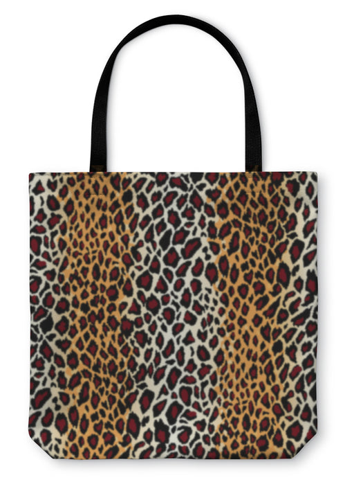 Tote Bag, Jaguar Skin Pattern - emeralds-gift-palace