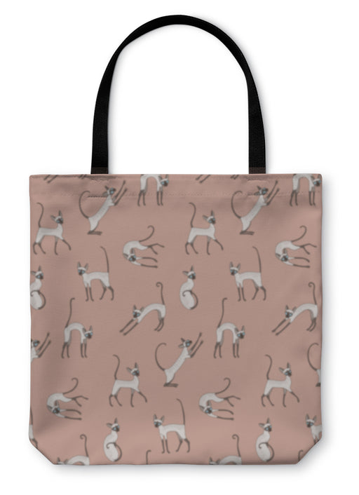 Tote Bag, Cute Cornish Rex Cats - emeralds-gift-palace