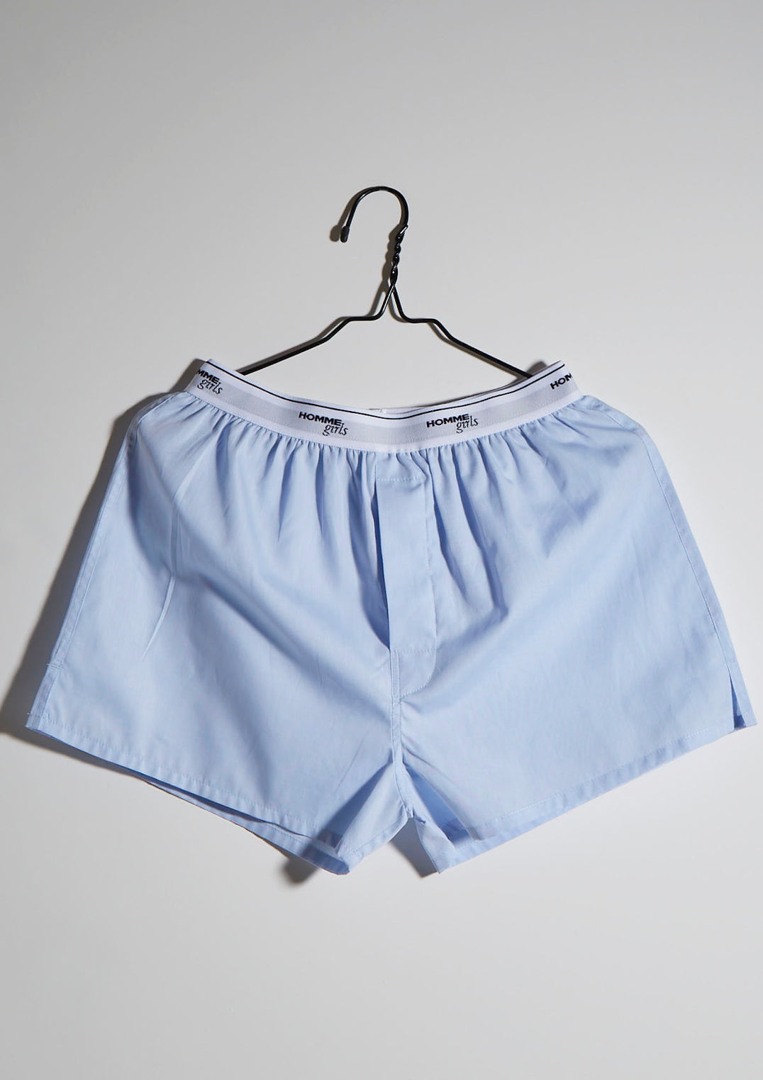 Chambray Blue Boxer Shorts