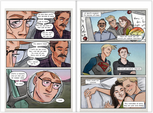 Supercorp Collected Fan Comics