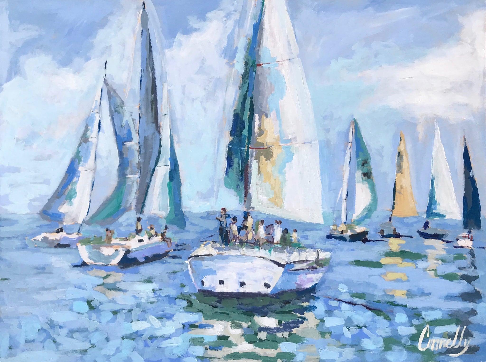 Chesapeake Regatta PRINT
