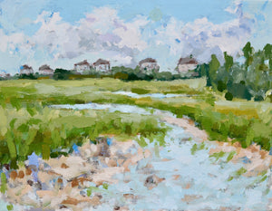 Oyster Bed at Figure Eight- 14x11