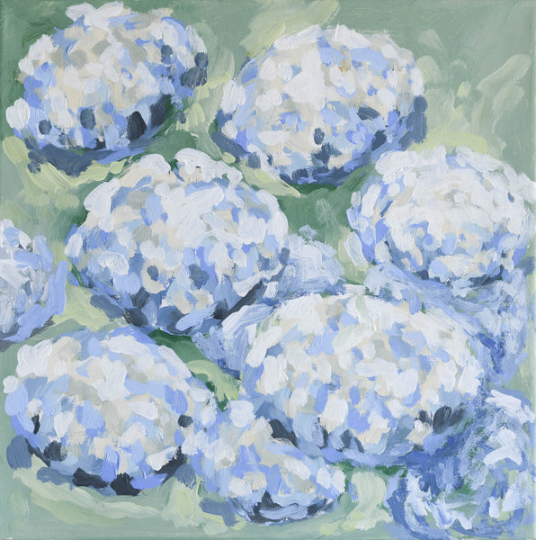 Hydrangeas from Him- 12x12