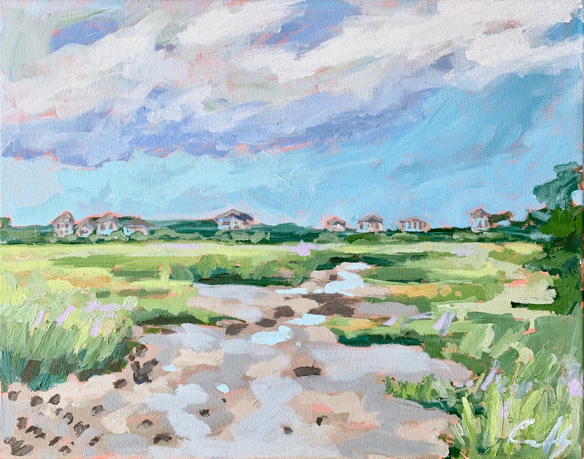 Figure Eight Oyster Bed- 14x11