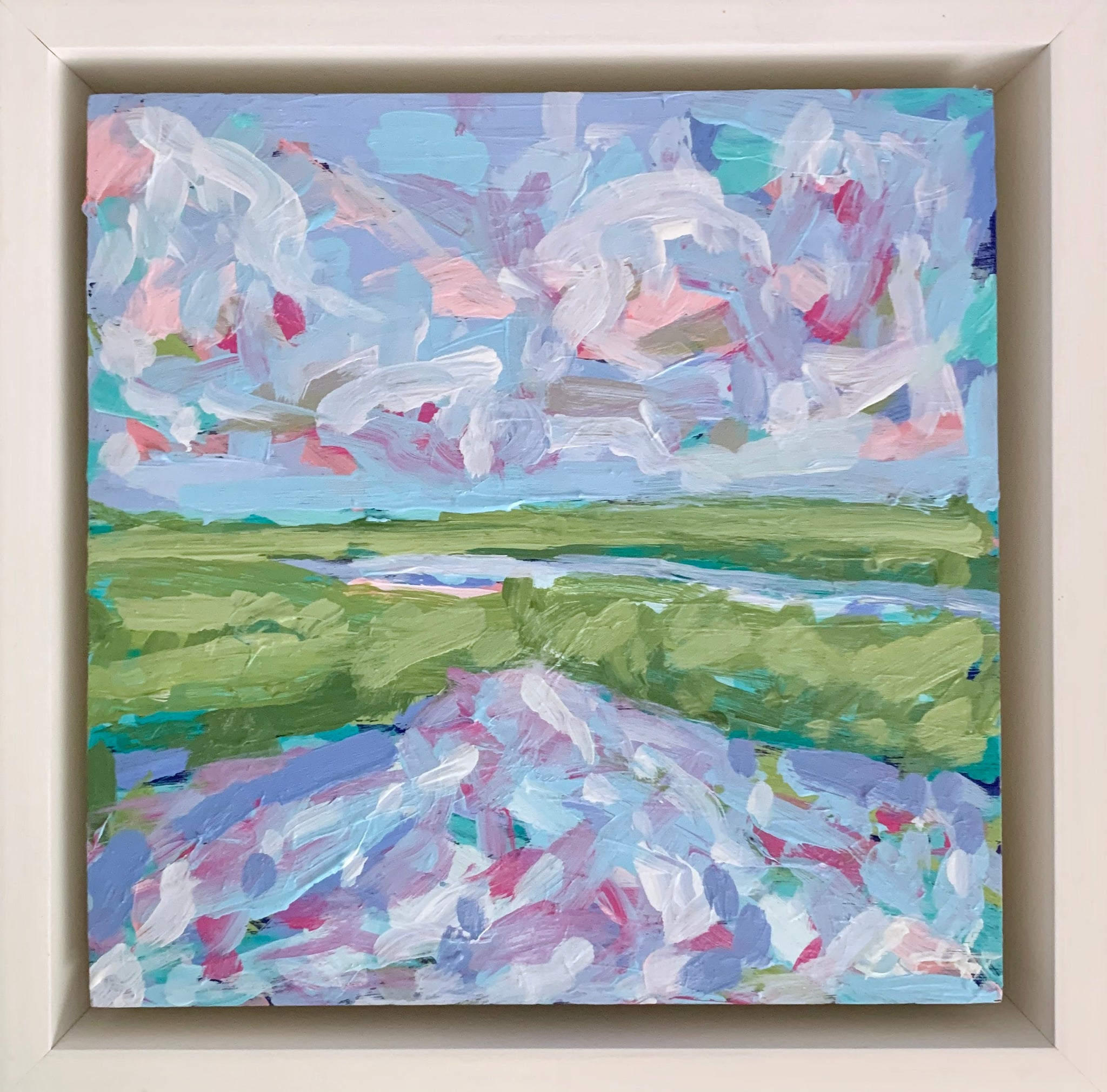 Marsh in Color 2- 6x6