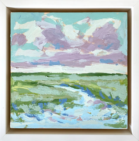 Marsh in Bloom- 6x6