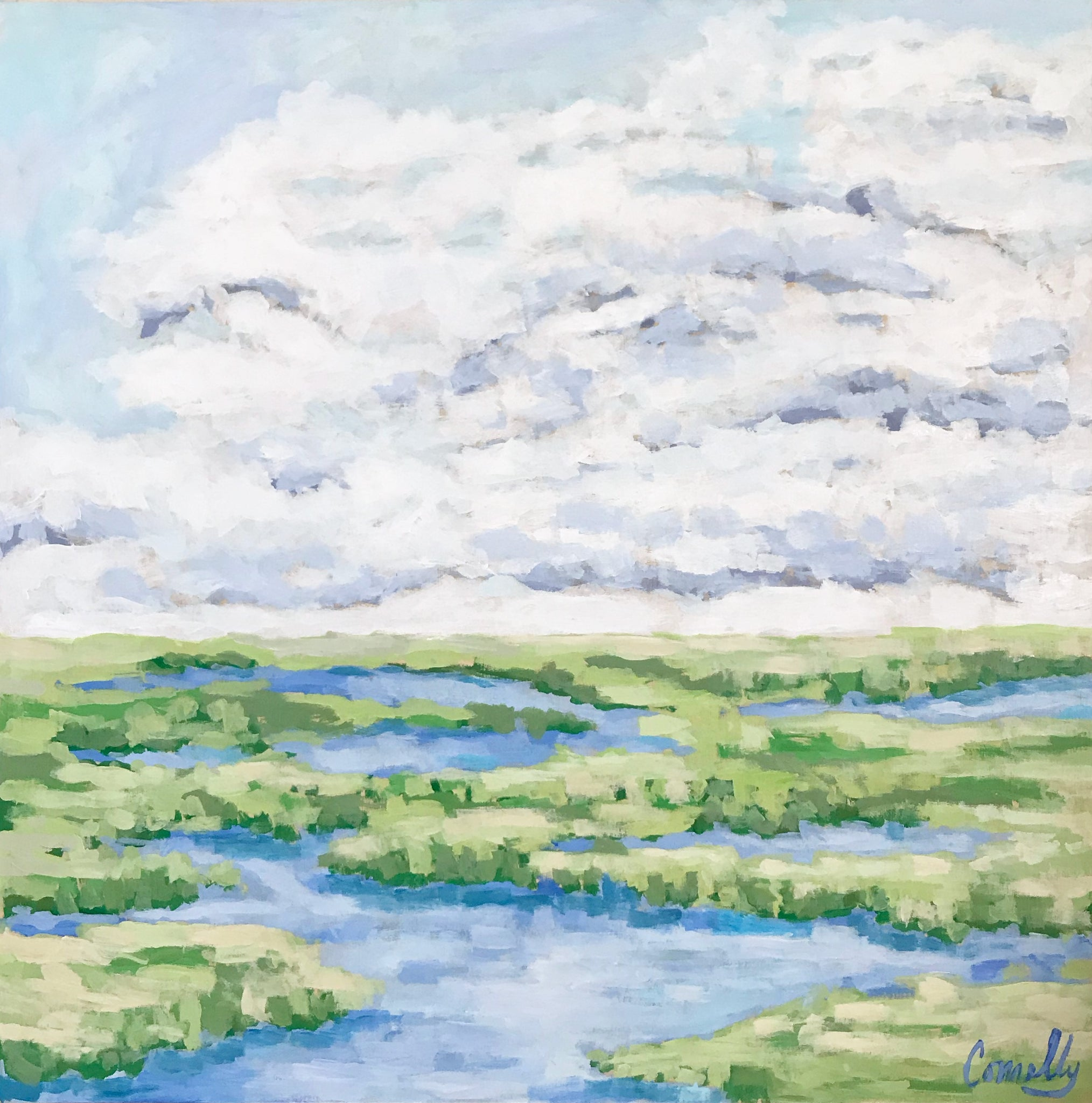 Low Country Marsh - 30x30
