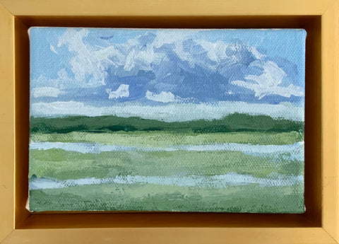 Marsh in Lemon Leaf- 6x4