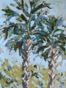 Palms from the Patio PRINT
