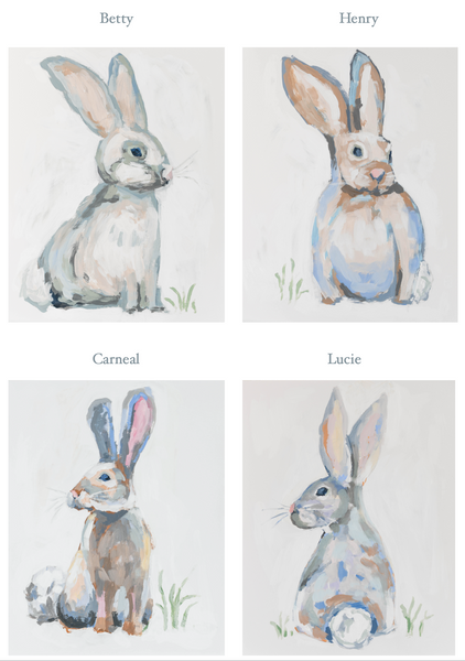 Bunny PRINTS Bundled or Individual