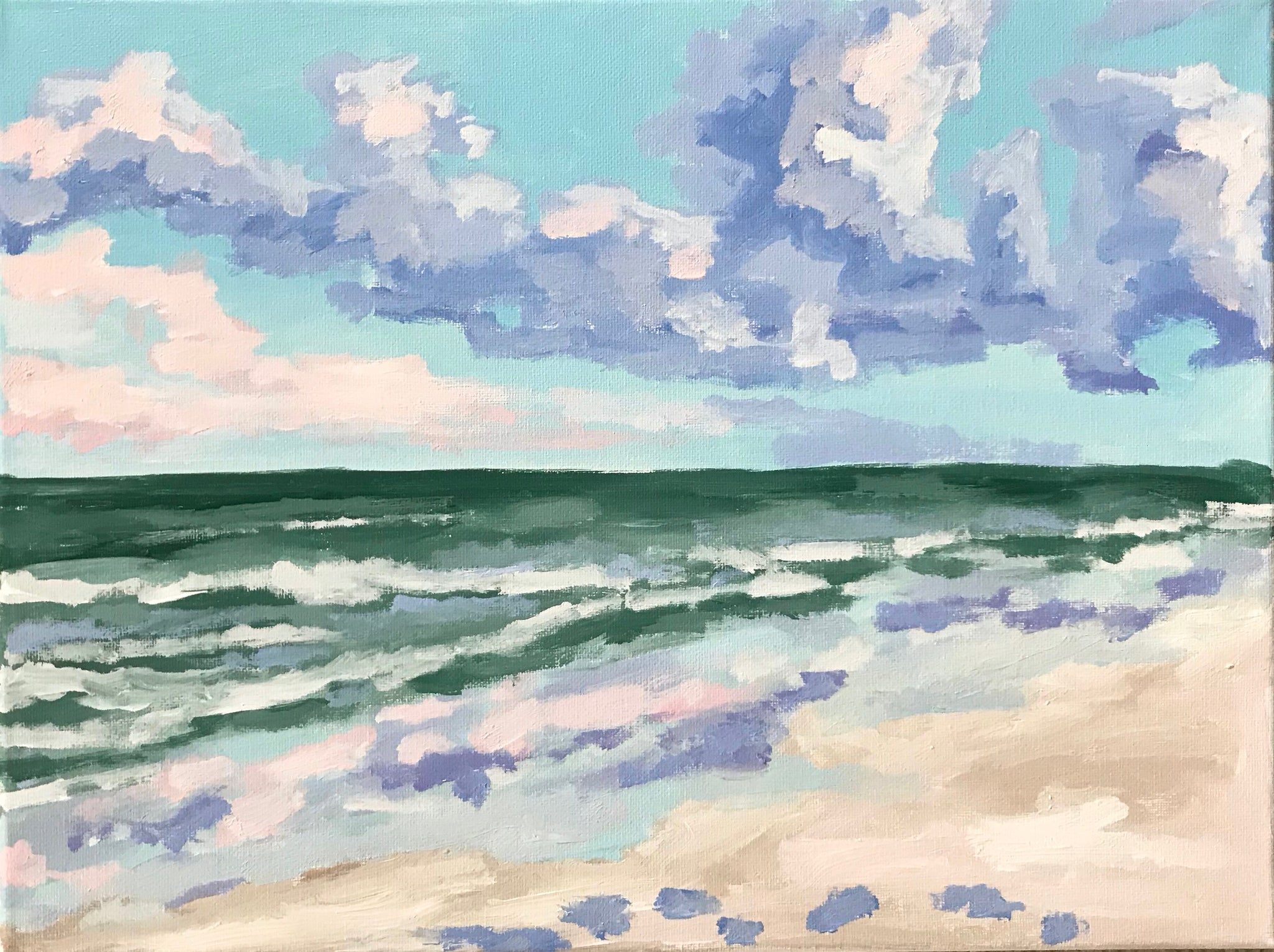 The Color of Isle of Palms- 16x12