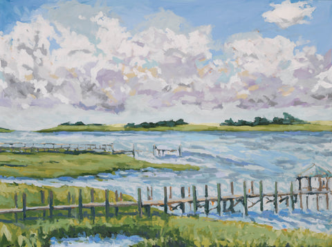 The View from Sailfish - 40x30