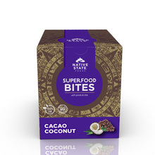Load image into Gallery viewer, Organic Superfood Snack Bites, Cacao Coconut, 8ct-Subscription (Save 10%)