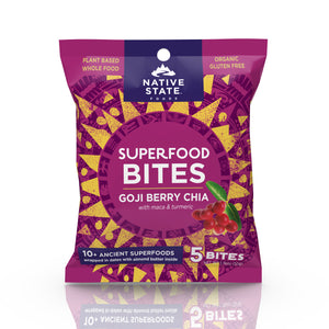 Superfood Snack Bites, Goji Berry Chia, 8ct