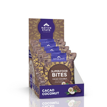 Load image into Gallery viewer, Superfood Snack Bites, Cacao Coconut, 8ct