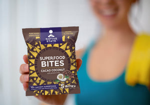 """The Power Trio"": Superfood Snack Bites, Flavor Variety Bundle, 3 Flavors, 24ct"