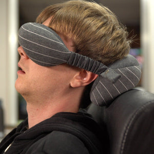 TRAVEL BLINDFOLD AND PILLOW