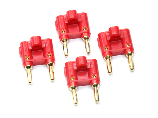 4PK Banana Plug Speaker Connector
