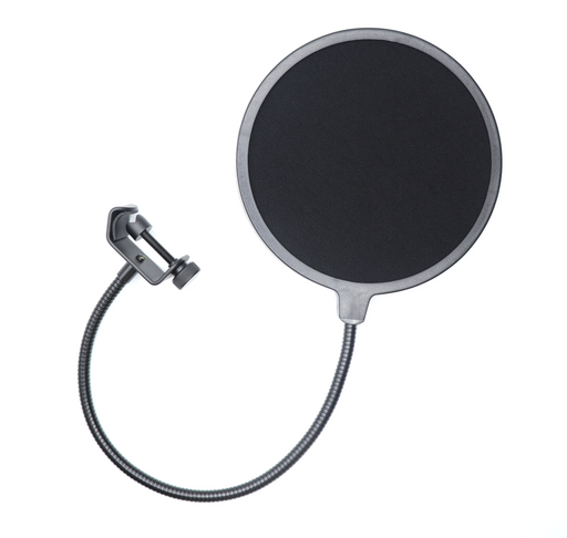 Windscreen/Pop Filter with Clamp