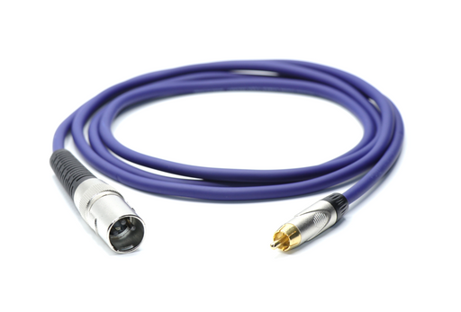 XLR Male to RCA Male Un-Balanced Cable