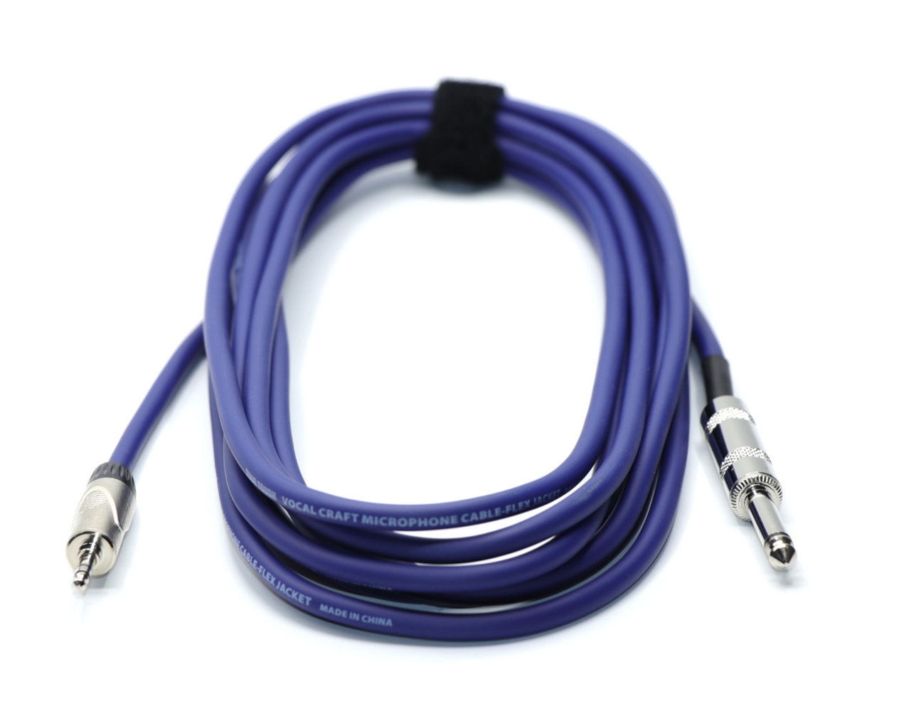 "3.5mm Stereo Male to 1/4"" Male Mono Patch Cable"
