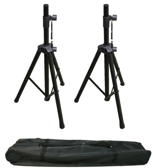 2PK Heavy Duty Speaker Stand with Case