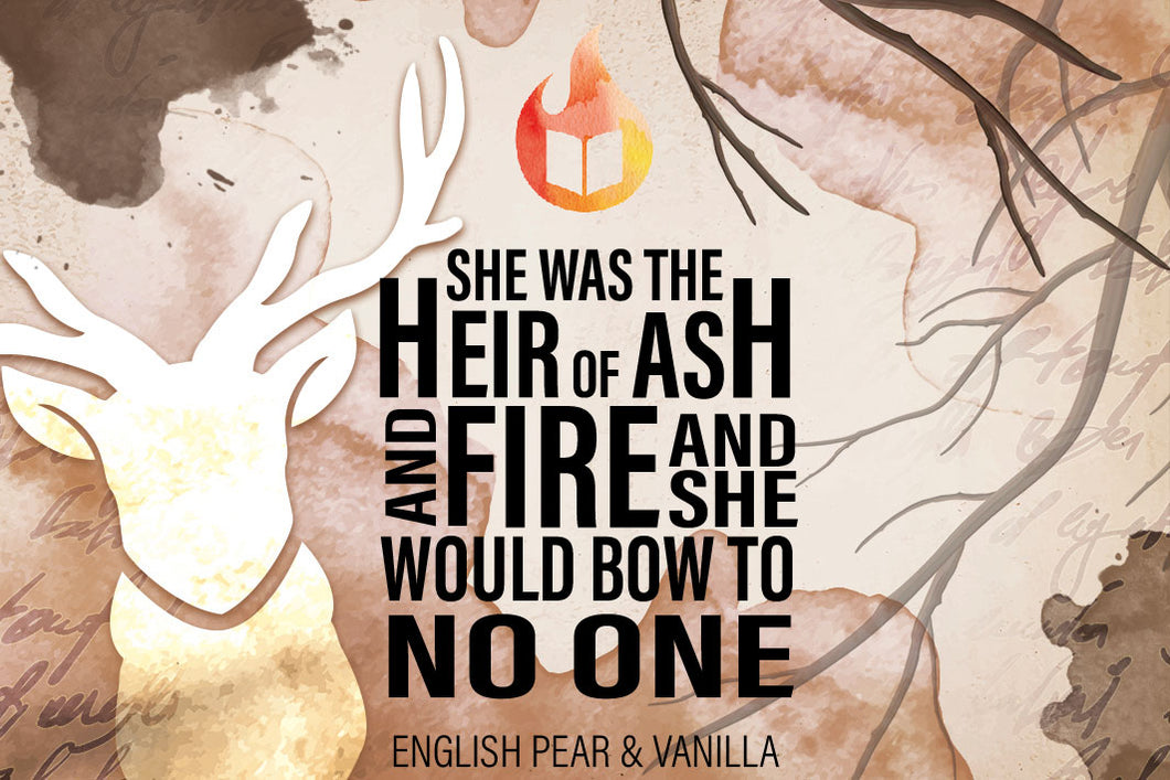 Heir of Ash and Fire - Throne of Glass