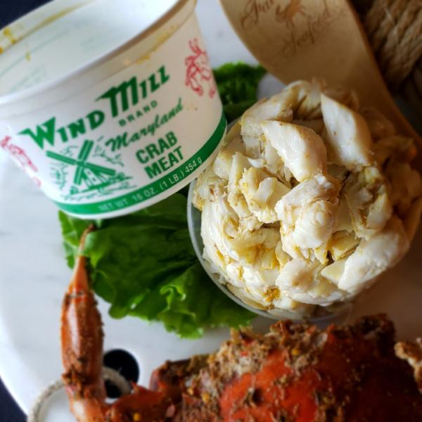 Jumbo Lump Crab Meat--one pound