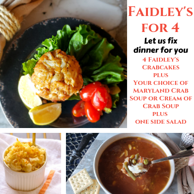 Faidley's Dinner For 4