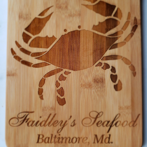 Faidley's Large Cutting Board