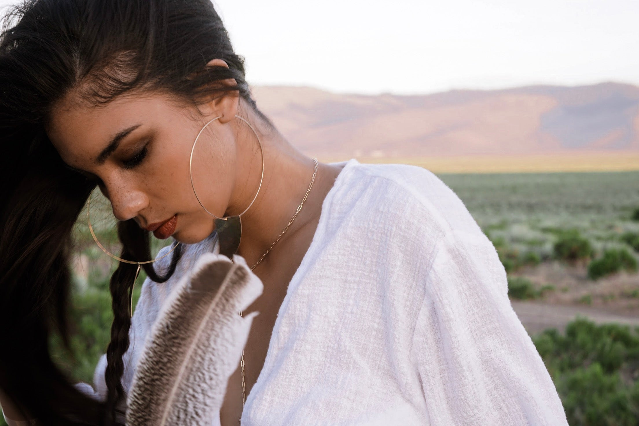 James Michelle Jewelry Lookbook Desert Sage