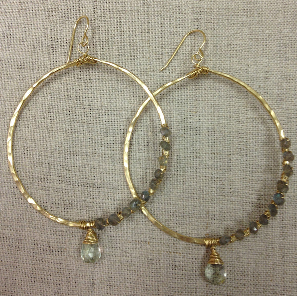 Margo Gem Hoops