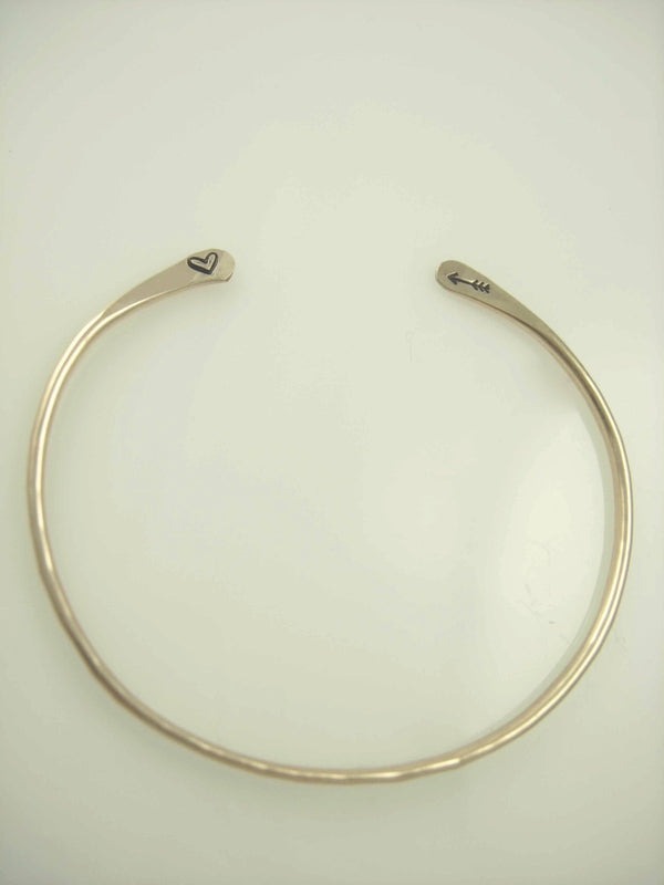 Arrow Hammered Bangle