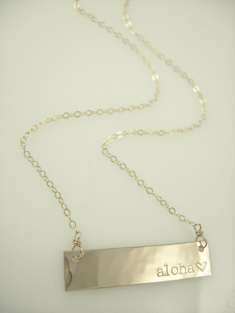 Aloha Bar Necklace - James Michelle