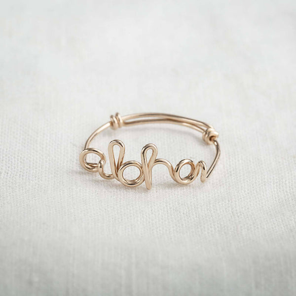 Aloha Wire Ring - James Michelle
